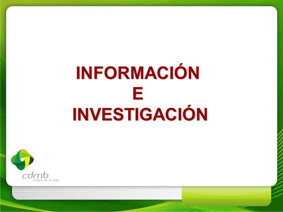 INFORMACIÓN E INVESTIGACIÓN