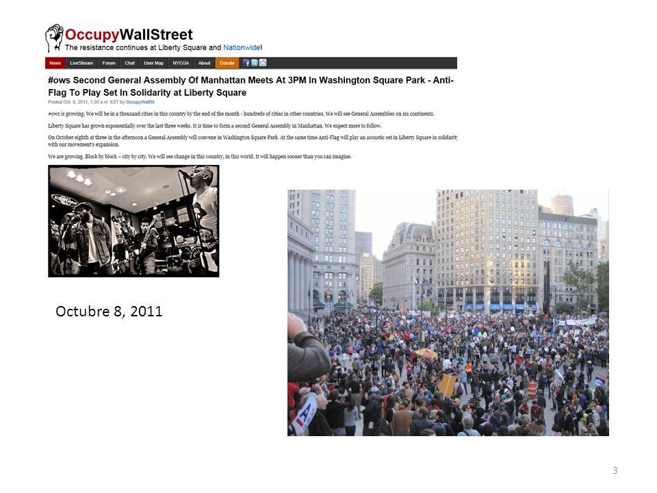 Octubre 8, 2011
