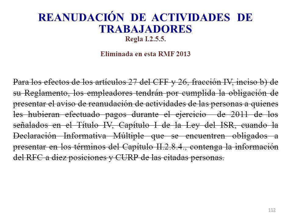REANUDACIÓN DE ACTIVIDADES DE TRABAJADORES