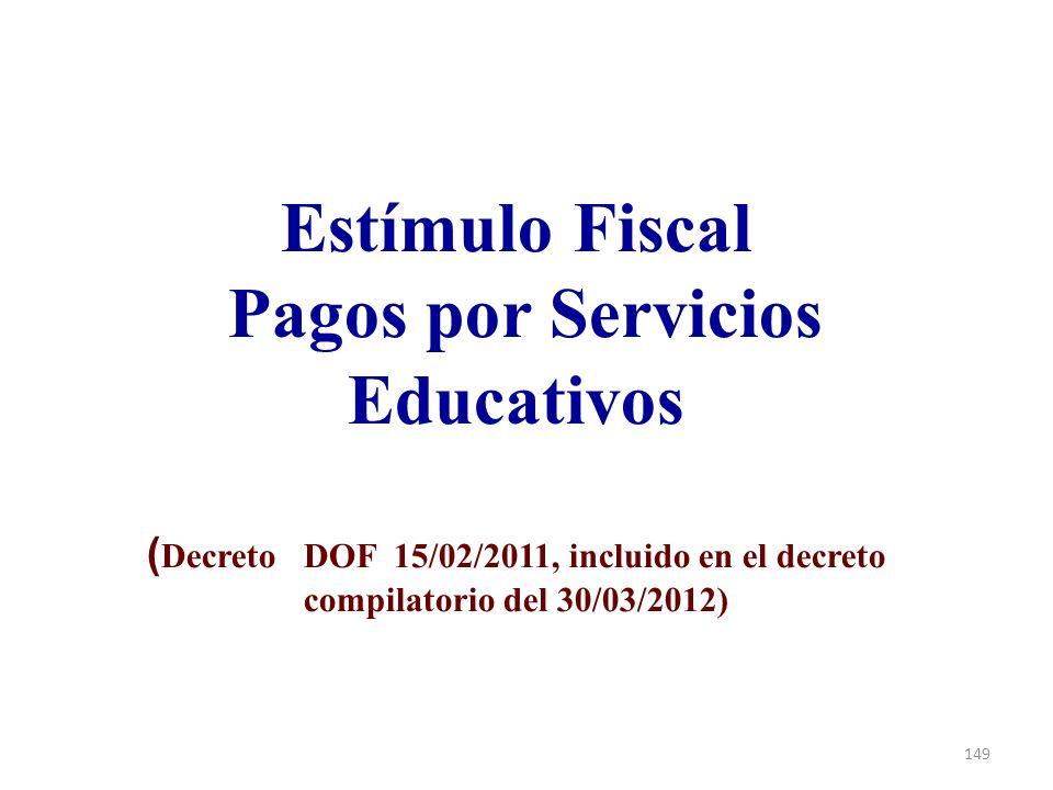 Pagos por Servicios Educativos