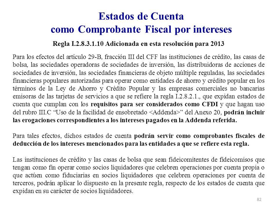 Estados de Cuenta como Comprobante Fiscal por intereses
