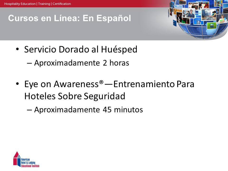 Cursos en Línea: En Español