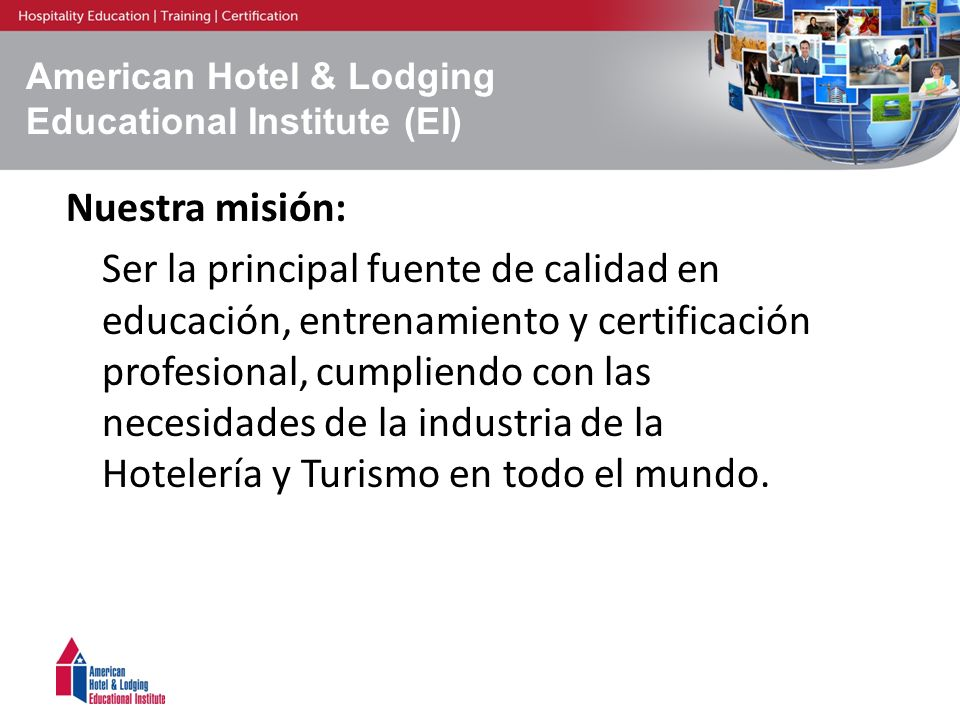 American Hotel & Lodging Educational Institute (EI)