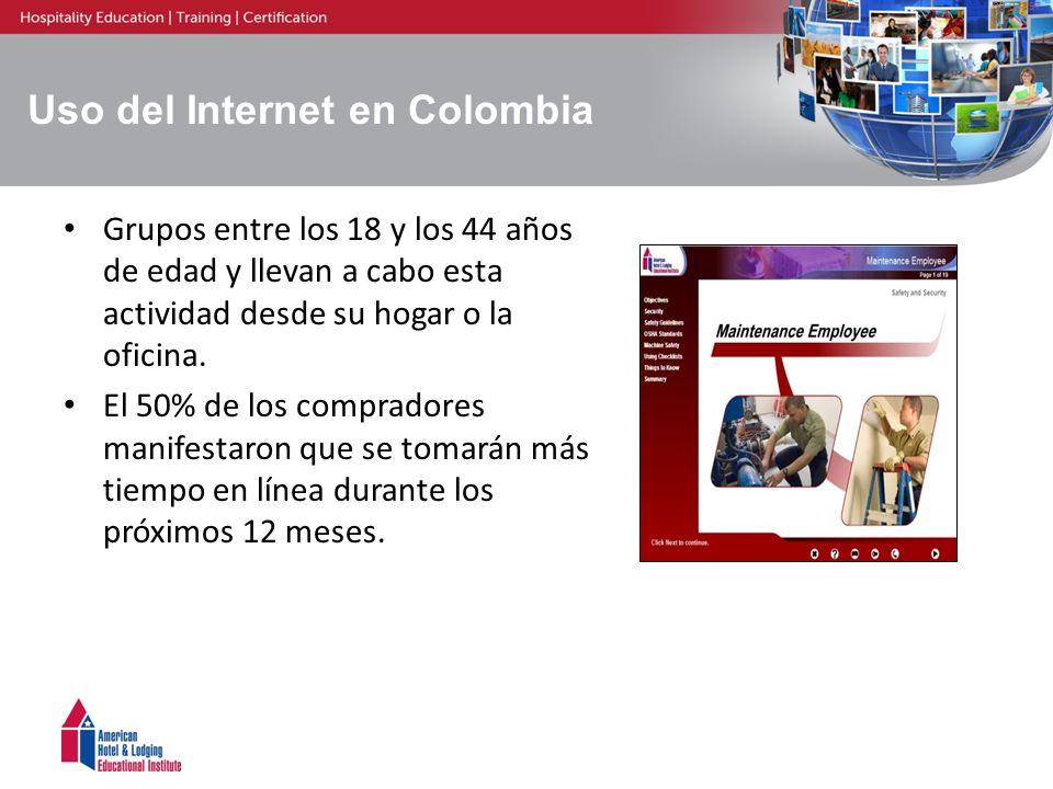 Uso del Internet en Colombia