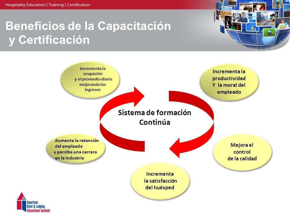 Beneficios de la Capacitación y Certificación
