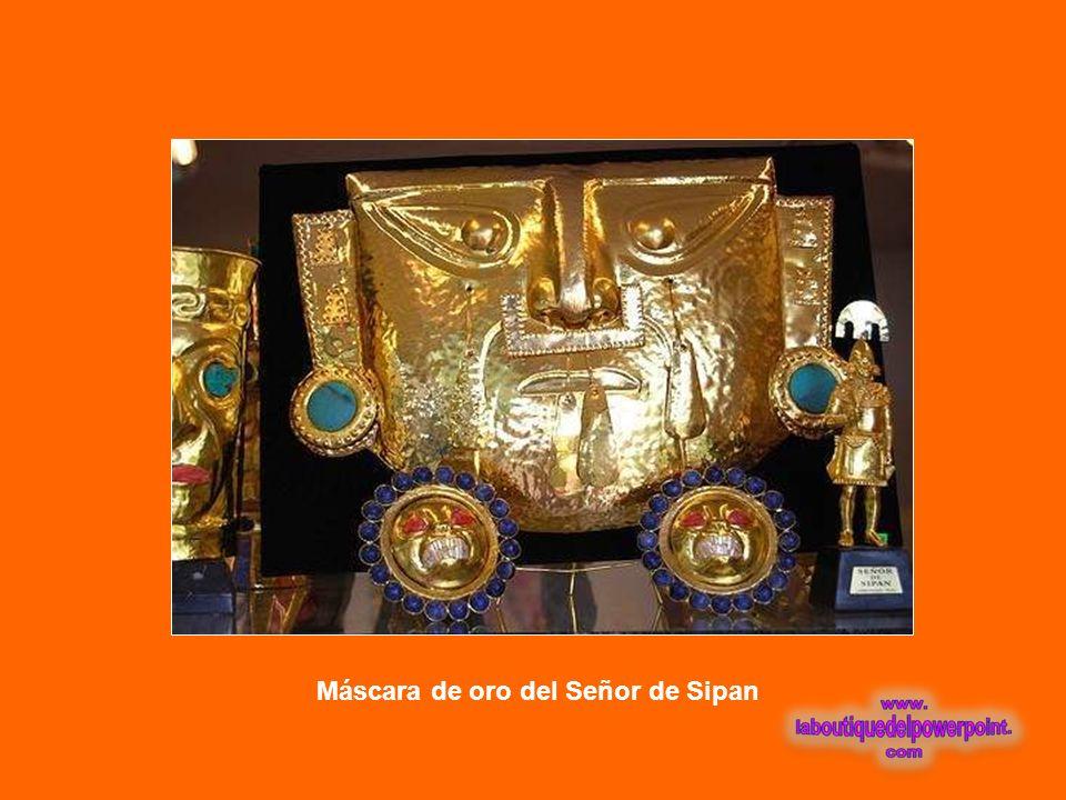 Máscara de oro del Señor de Sipan