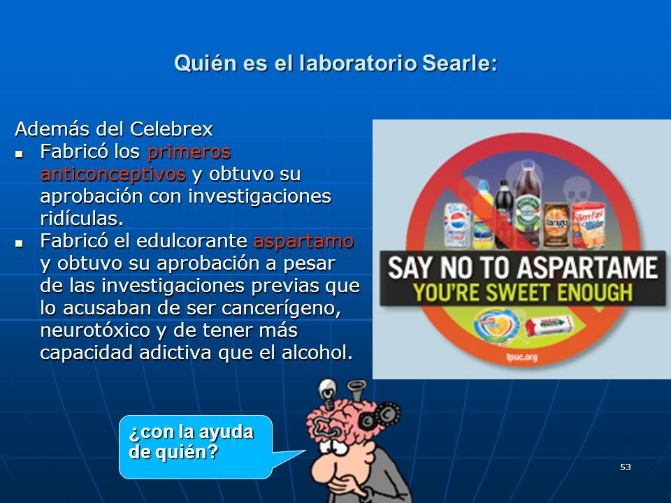 Quién es el laboratorio Searle:
