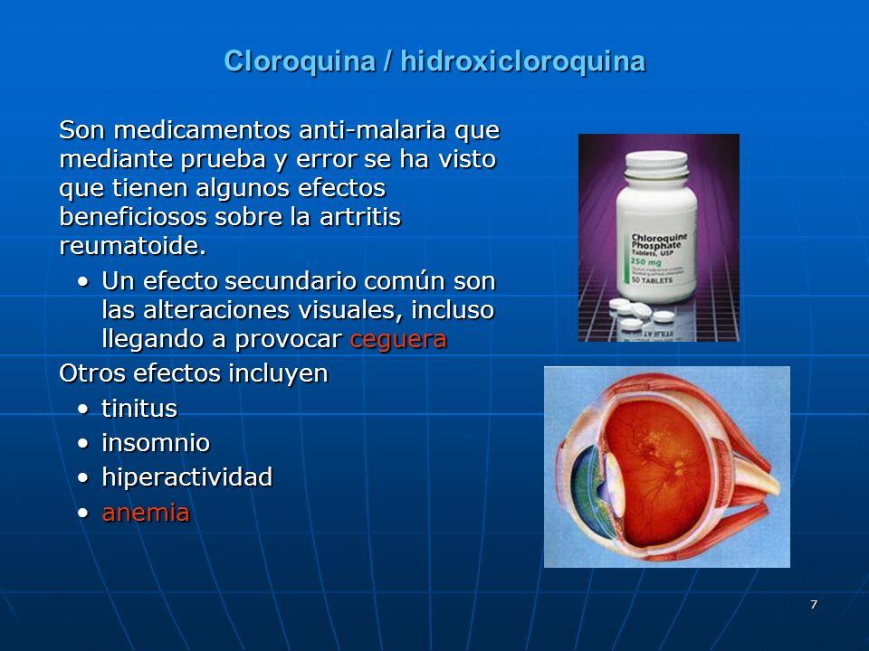 Cloroquina / hidroxicloroquina