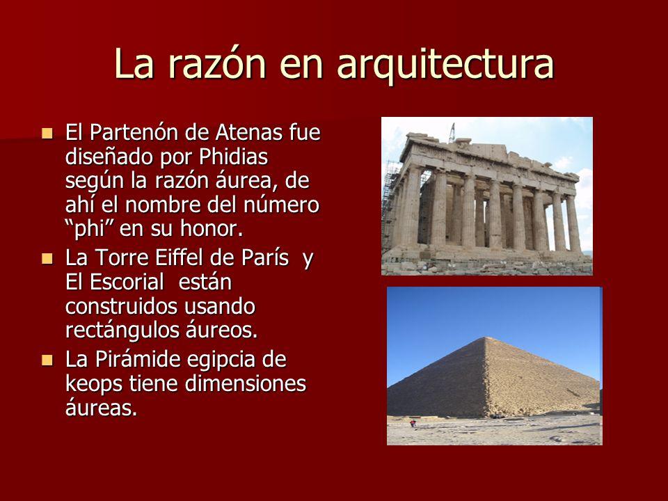 La razón en arquitectura
