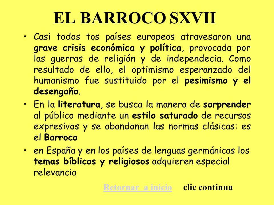 EL BARROCO SXVII