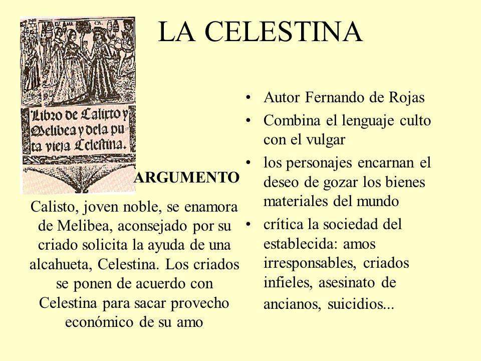 Siglos de oro de la literatura espa ola xvi xvii ppt for La celestina argumento
