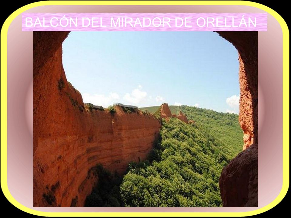 BALCÓN DEL MIRADOR DE ORELLÁN