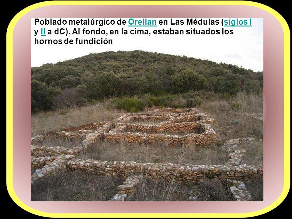 Poblado metalúrgico de Orellan en Las Médulas (siglos I y II a dC)