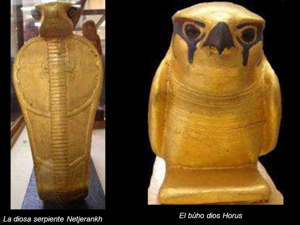 El búho dios Horus La diosa serpiente Netjerankh