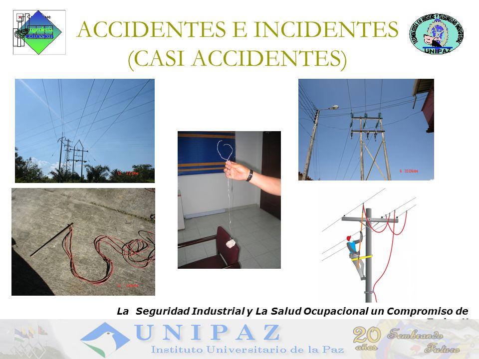 ACCIDENTES E INCIDENTES (CASI ACCIDENTES)