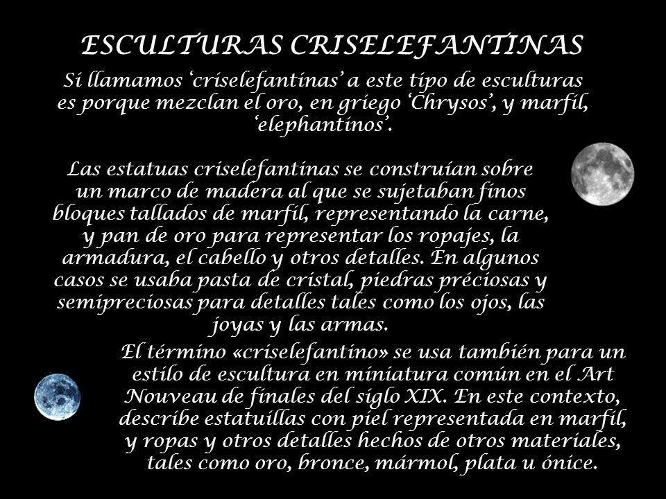 ESCULTURAS CRISELEFANTINAS