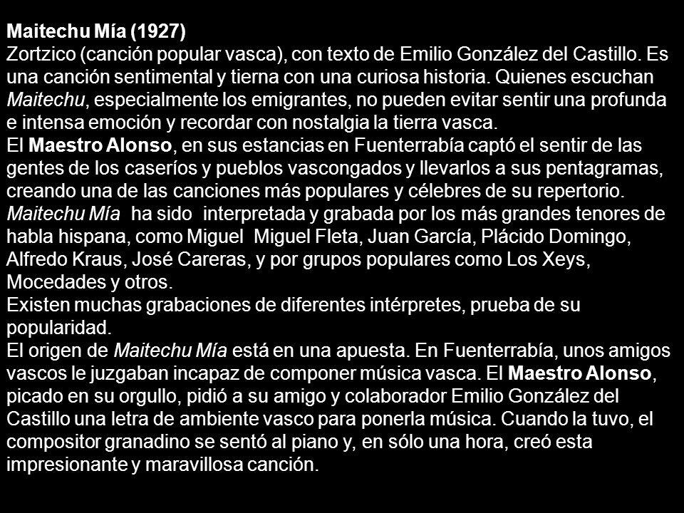 Maitechu Mía (1927)