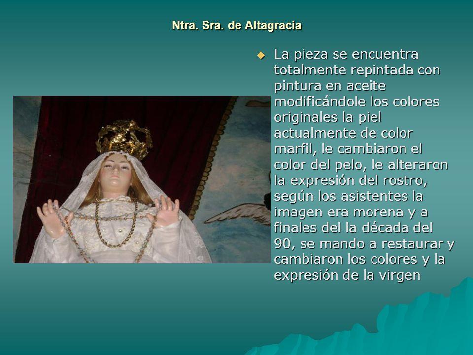 Ntra. Sra. de Altagracia