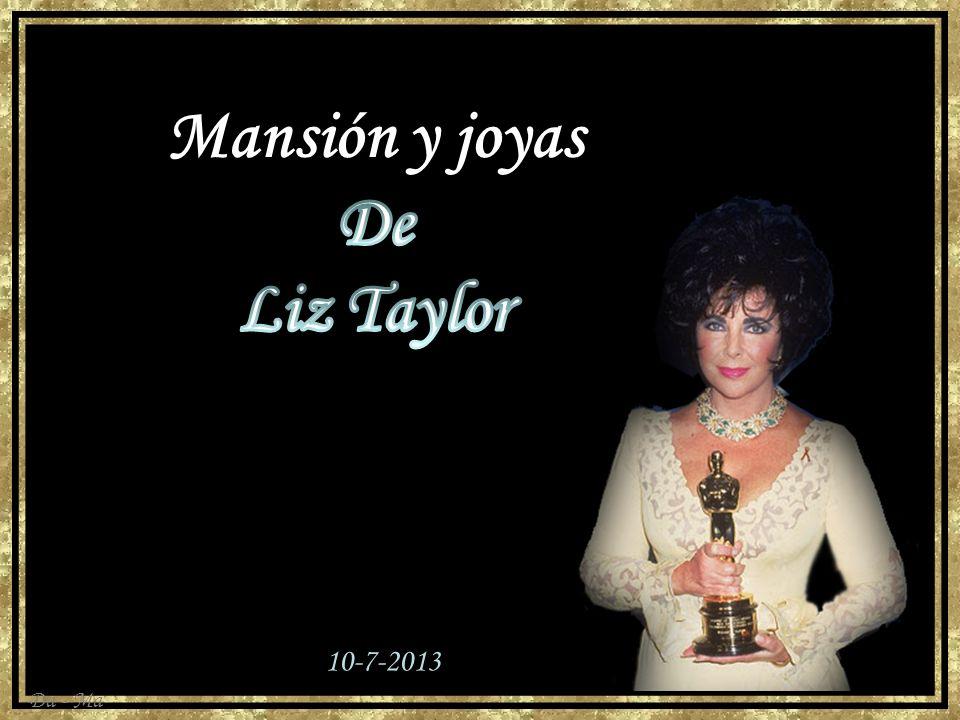 Mansión y joyas De Liz Taylor