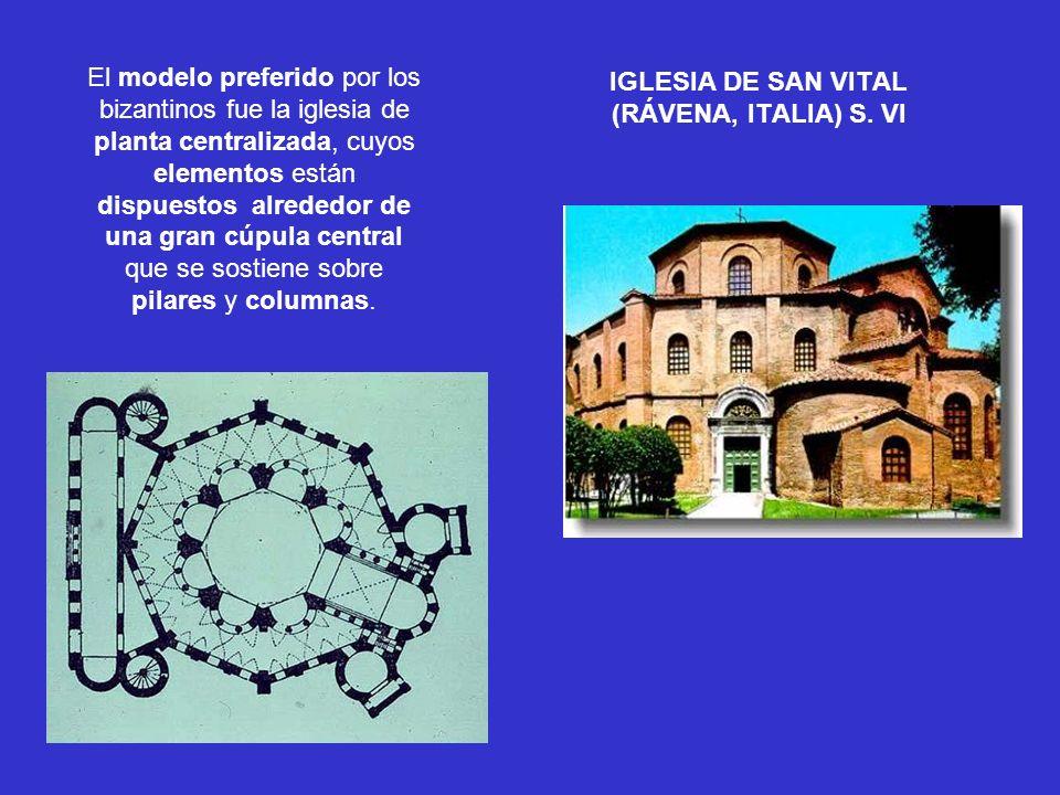 IGLESIA DE SAN VITAL (RÁVENA, ITALIA) S. VI