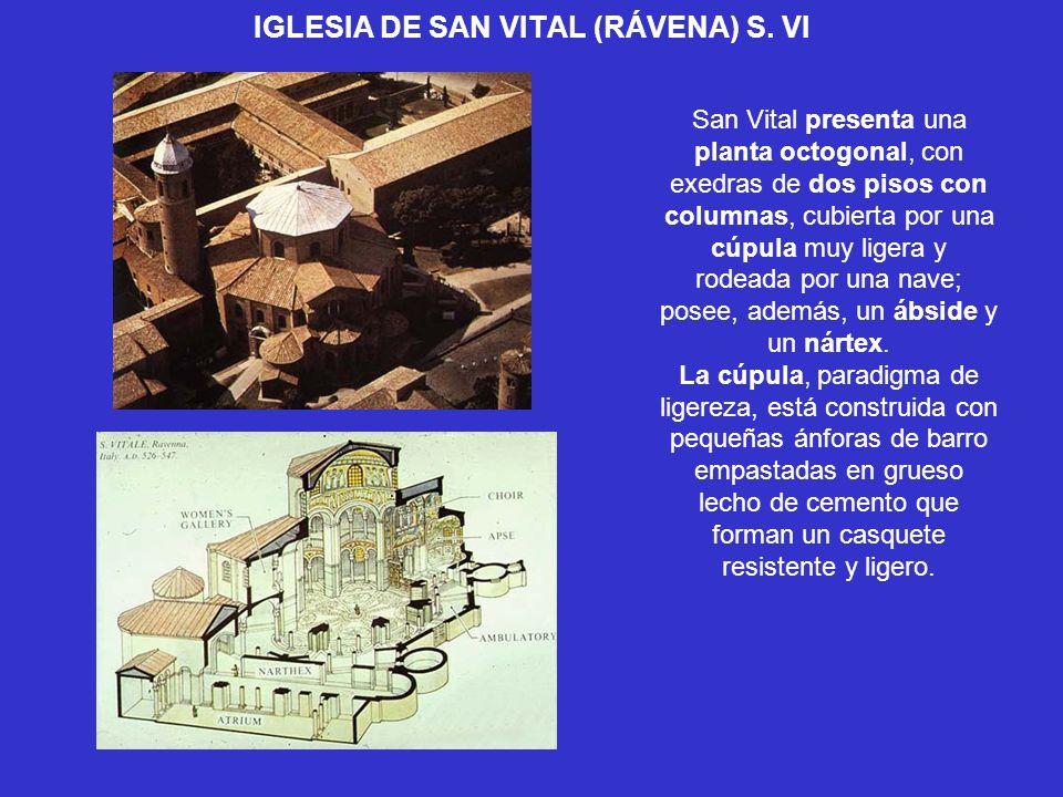 IGLESIA DE SAN VITAL (RÁVENA) S. VI