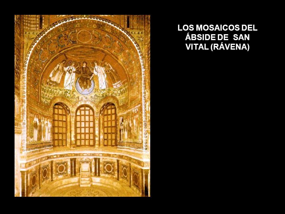 LOS MOSAICOS DEL ÁBSIDE DE SAN VITAL (RÁVENA)