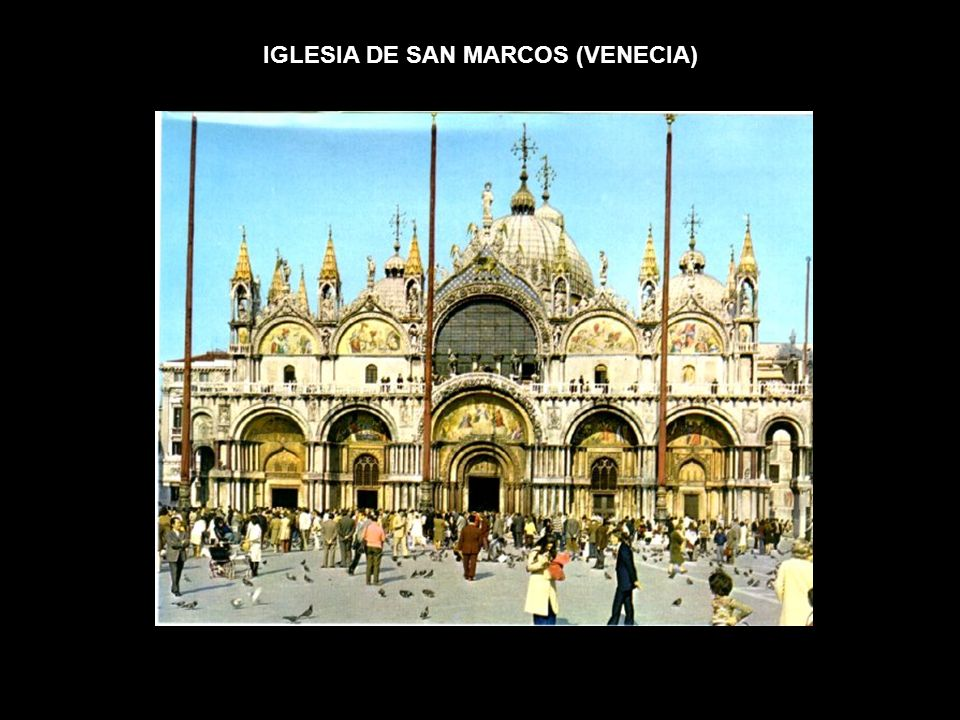 IGLESIA DE SAN MARCOS (VENECIA)