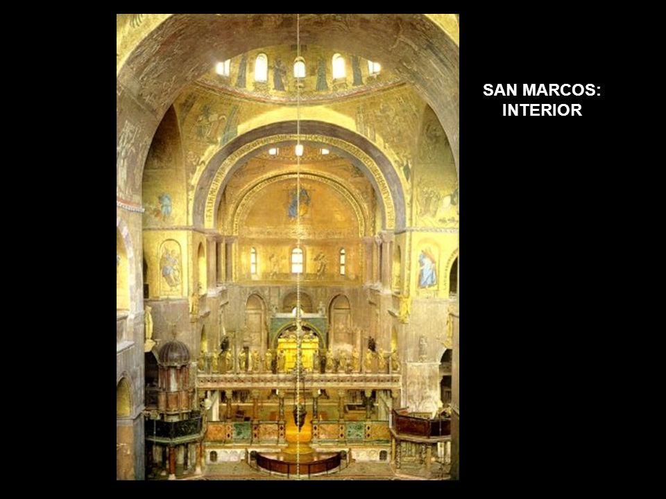 SAN MARCOS: INTERIOR