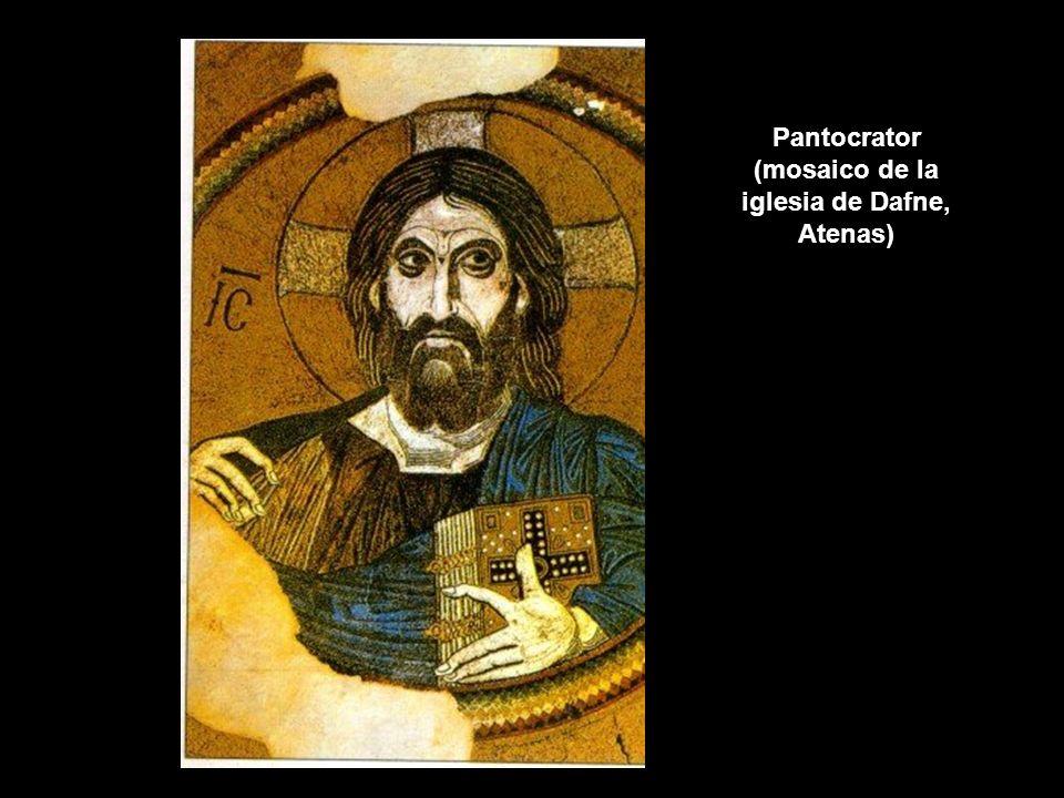 Pantocrator (mosaico de la iglesia de Dafne, Atenas)