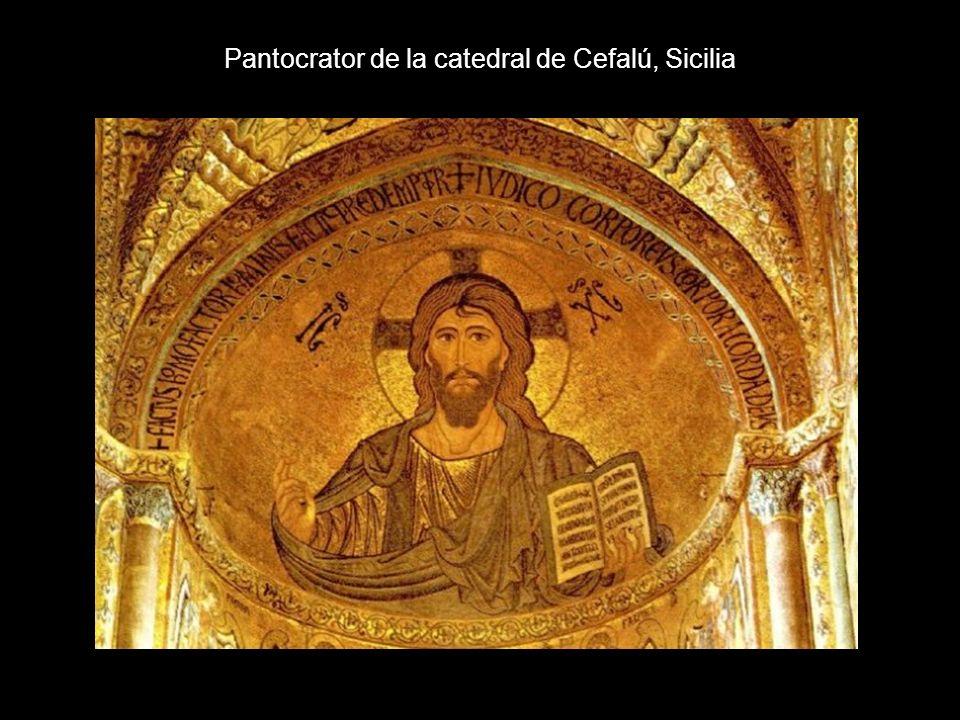 Pantocrator de la catedral de Cefalú, Sicilia