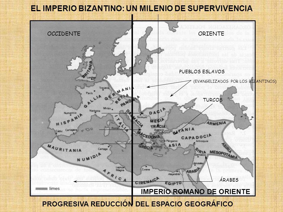 EL IMPERIO BIZANTINO: UN MILENIO DE SUPERVIVENCIA