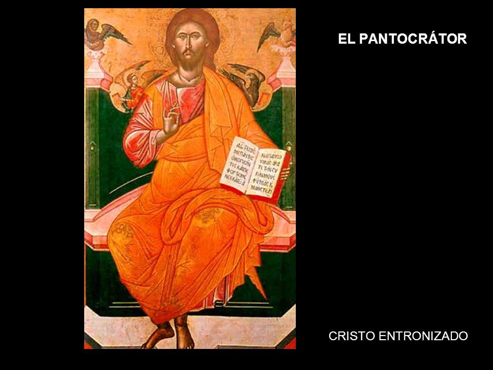 EL PANTOCRÁTOR CRISTO ENTRONIZADO