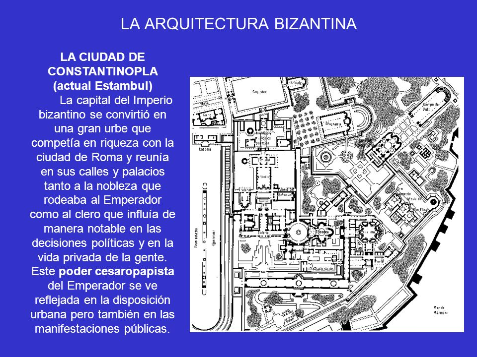 LA ARQUITECTURA BIZANTINA