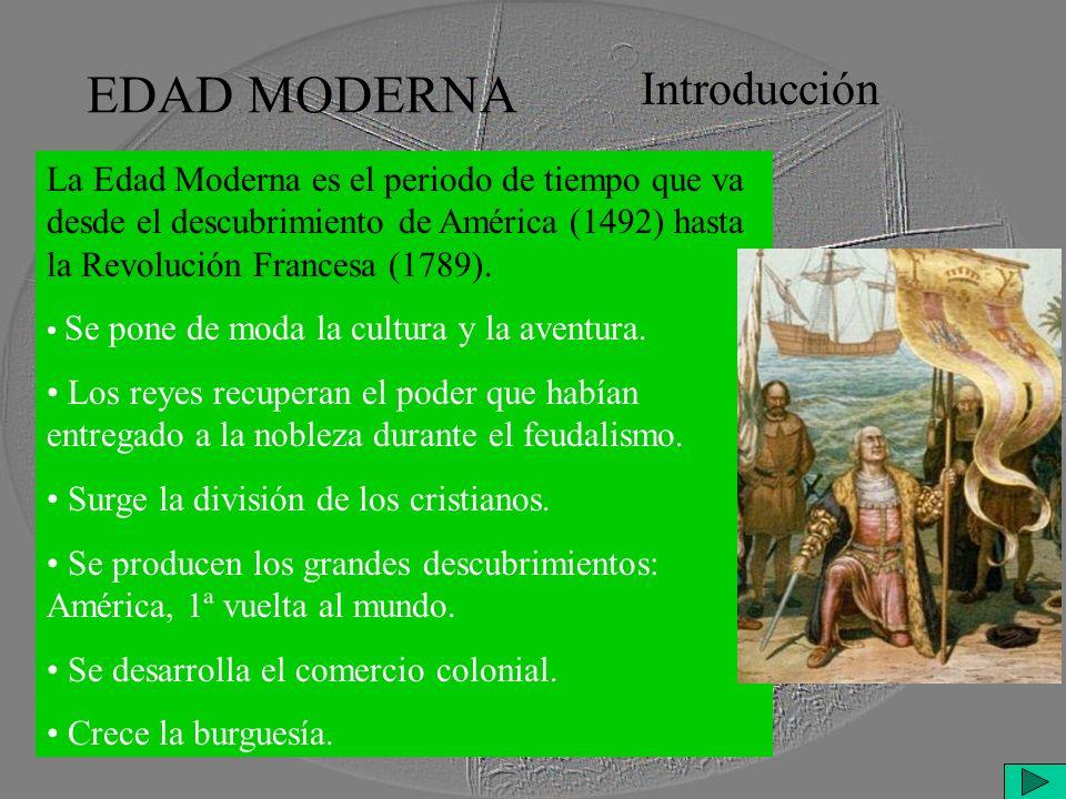 EDAD MODERNA Introducción