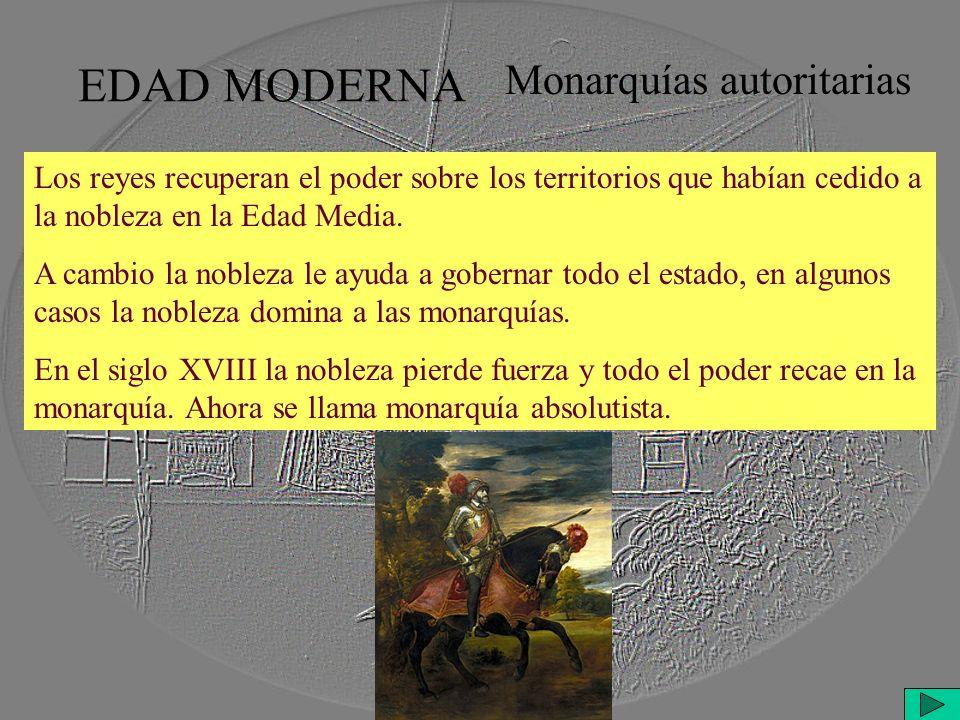 Monarquías autoritarias