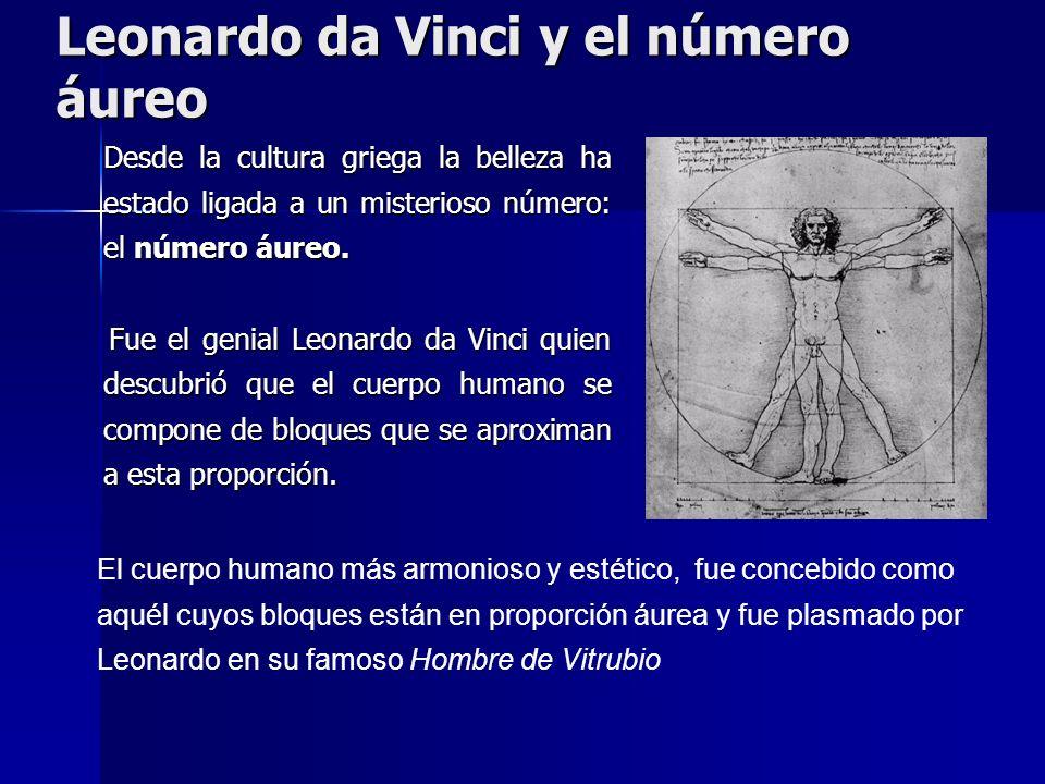 Leonardo da Vinci y el número áureo