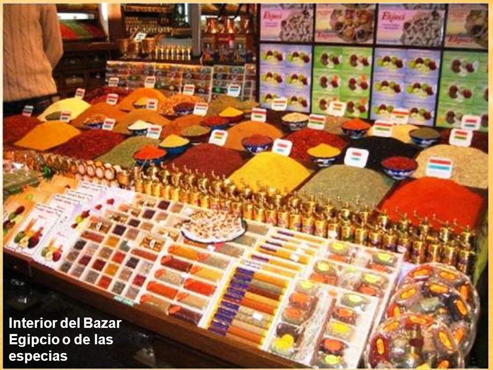Interior del Bazar Egipcio o de las especias