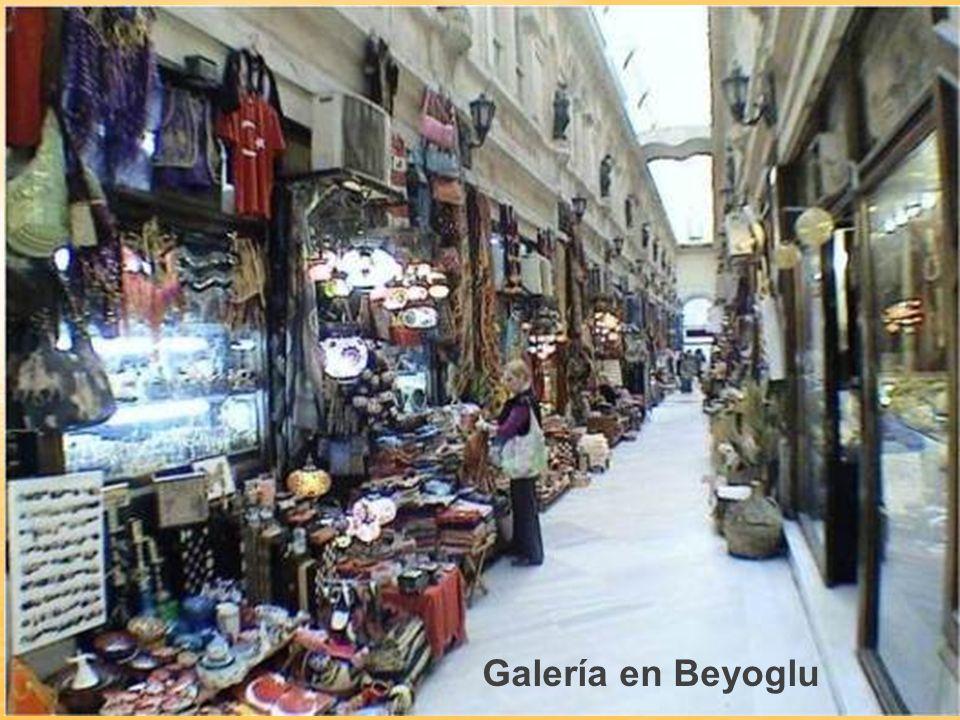 Galería en Beyoglu