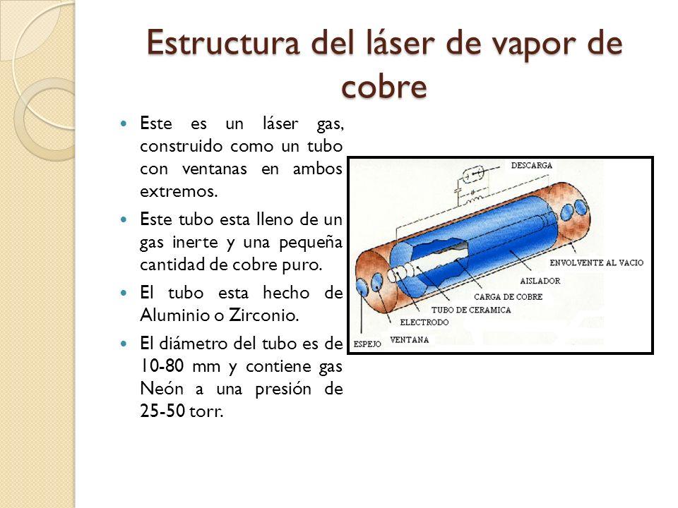 Estructura del láser de vapor de cobre