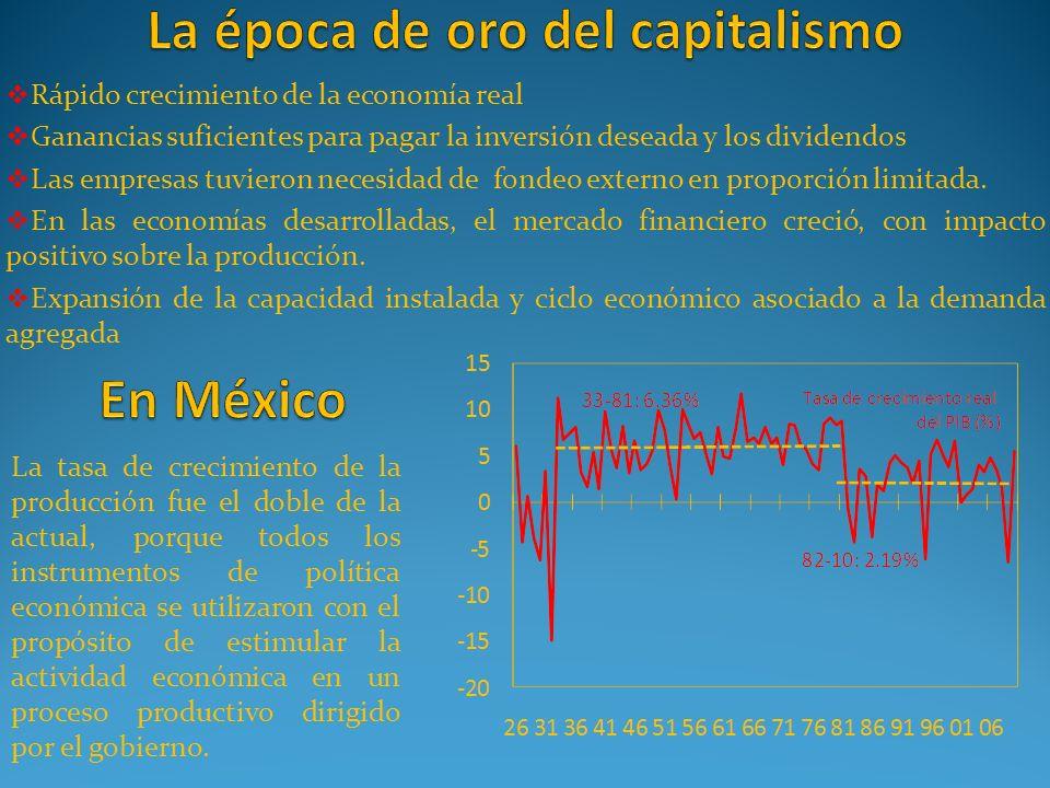 La época de oro del capitalismo