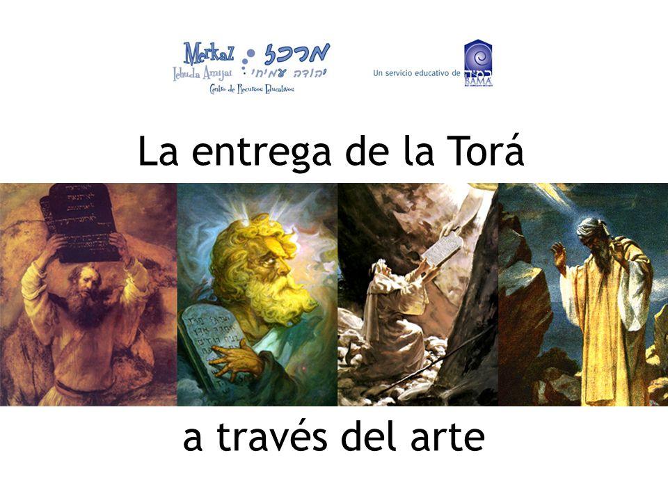 La entrega de la Torá a través del arte