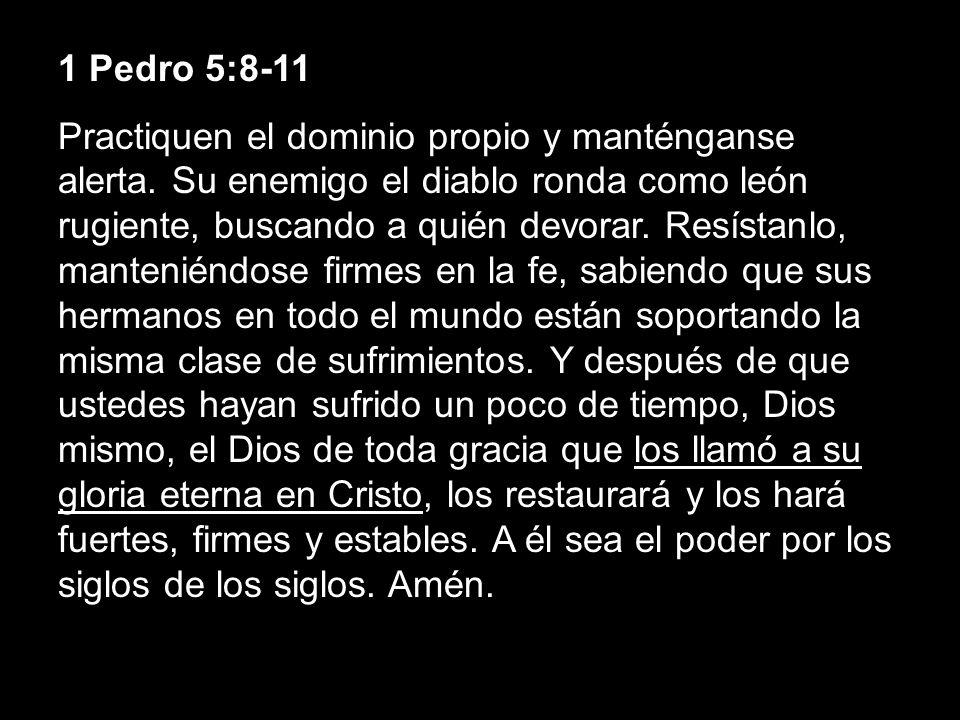 1 Pedro 5:8-11