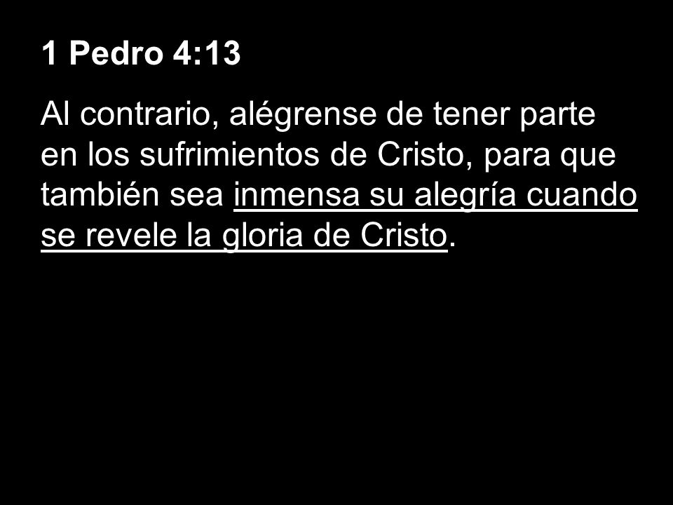 1 Pedro 4:13
