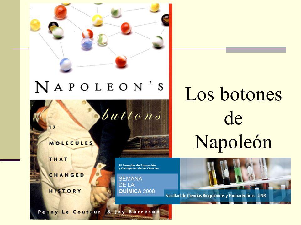 Los botones de Napoleón