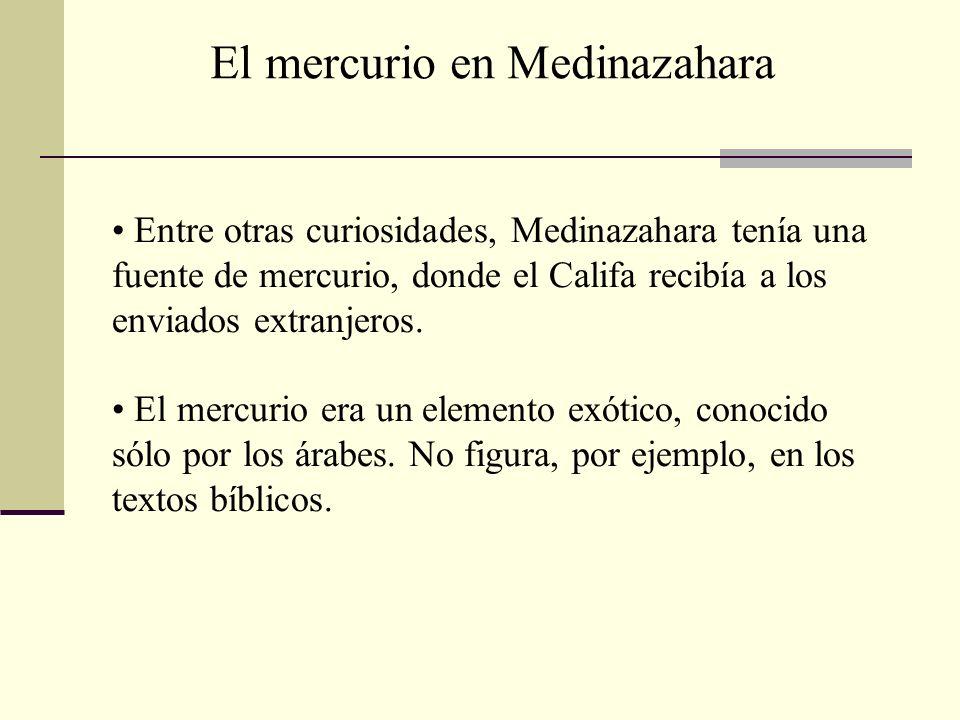 El mercurio en Medinazahara