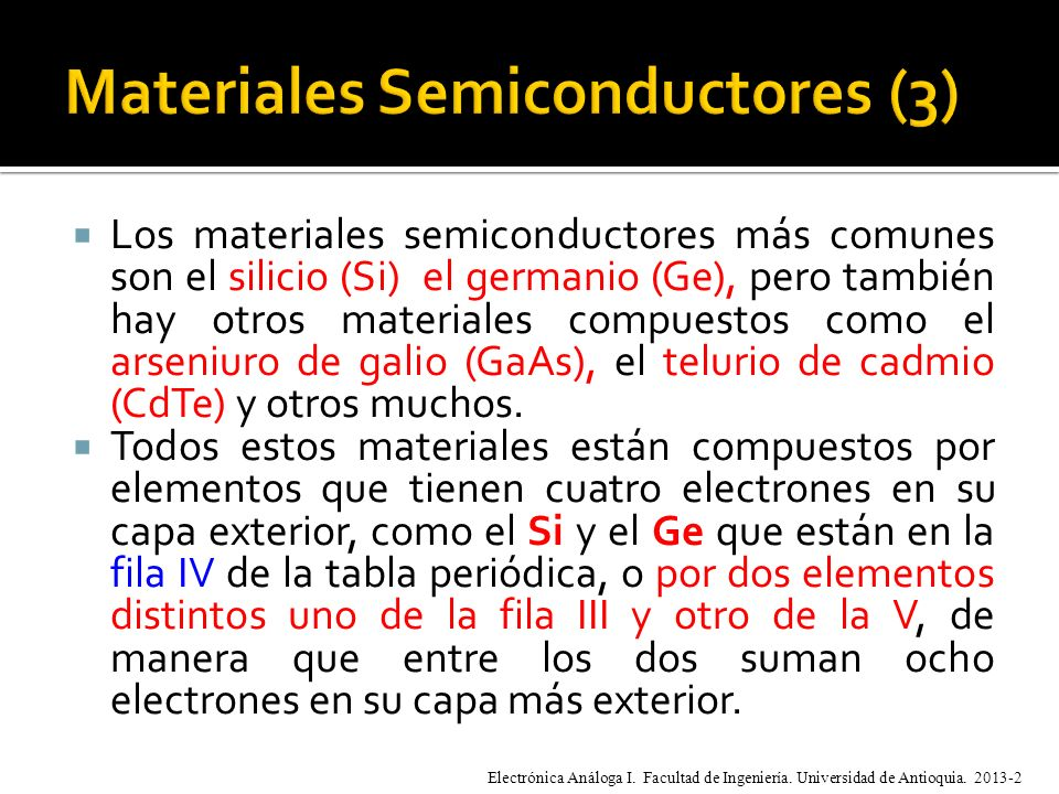 Materiales Semiconductores (3)