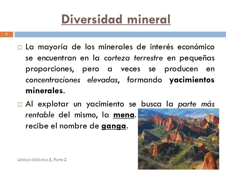 Diversidad mineral