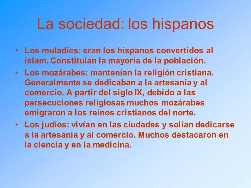 La sociedad: los hispanos