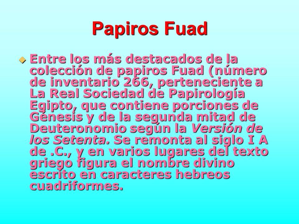 Papiros Fuad