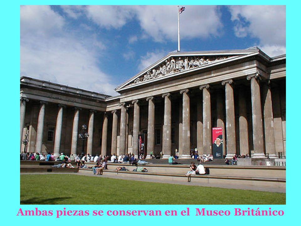 Ambas piezas se conservan en el Museo Británico